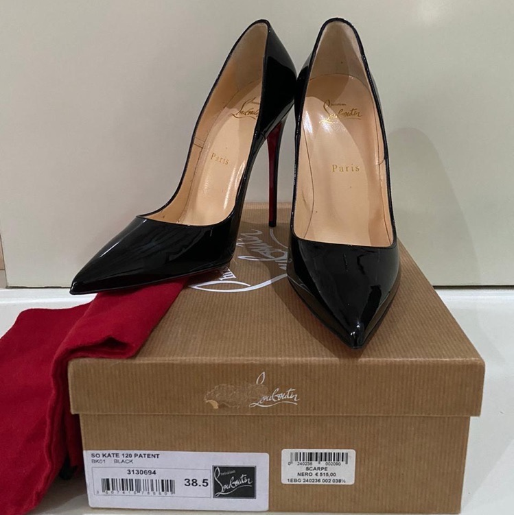 Christian Loubutin So Kate 120 Patent Heels
