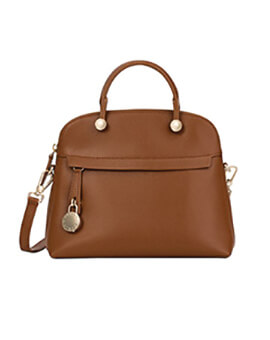 FURLA Piper Medium Daino Satchel
