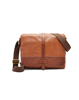 FOSSIL Scout Messenger Brown