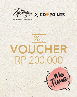 Me Time Go Points - Rp.200,000 Free Voucher
