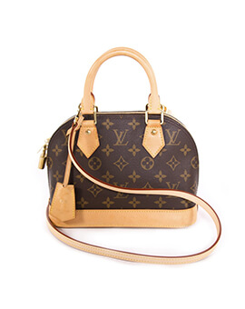 LOUIS VUITTON LV Alma BB monogram 2015