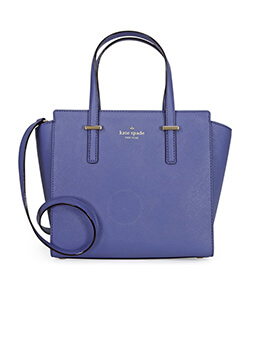 kate spade small hayden holiday blue