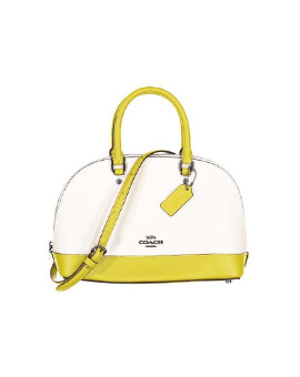 coach mini sierra chalk colorblock