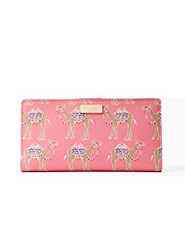 KATE SPADE KS Stacy Liberty Street Camel Party