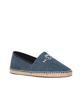 COACH Rhoda Washed Espadrille in Denim
