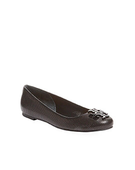 TORY BURCH TB Lowell 2 Perforated Ballet Flat