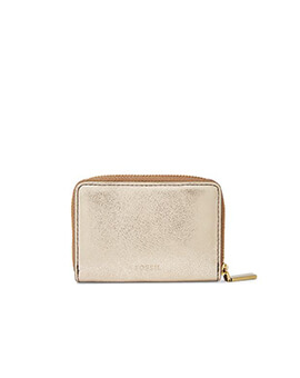 FOSSIL RFID Mini Pale Gold Metallic