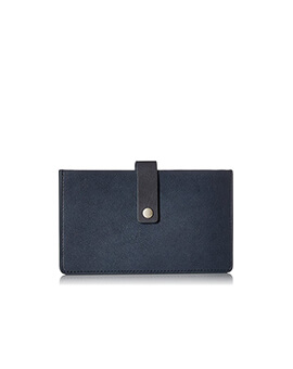 FOSSIL Vale Tab Wallet Midnight Navy