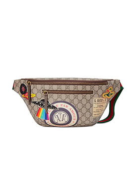GUCCI Courrier GG Supreme Leather
