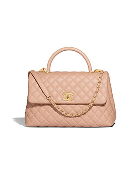 CHANEL Medium Coco Handle Lizard #26
