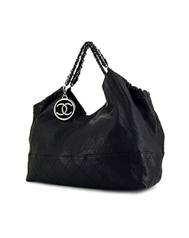 CHANEL Cabas Hobo Chain SHW #11