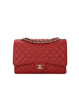 CHANEL Maxi Red SHW #17