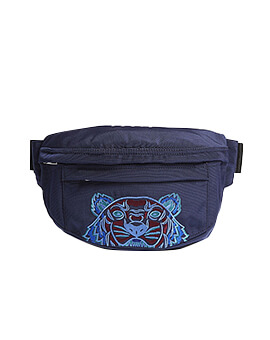 KENZO Bum Bag Tiger Canvas in Blue
