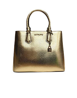MICHAEL KORS MEDIUM ADELE PALE GOLD