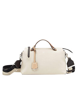 FENDI By The Way BTW Small Camelia Grained Multicolor Leather