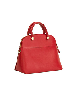 FURLA Medium Piper in Red Ruby