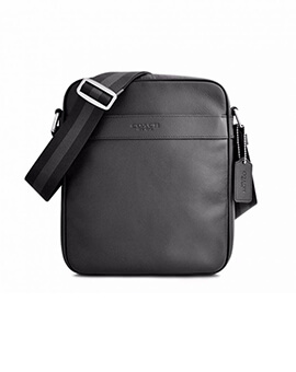 COACH FLIGHT BAG BLACK