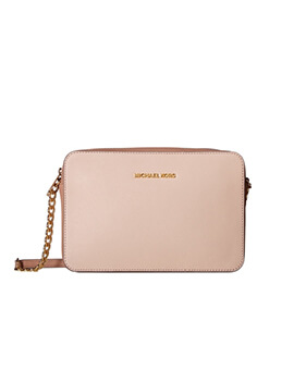 MICHAEL KORS LARGE EAST WEST CROSSBODY PASTEL PINK