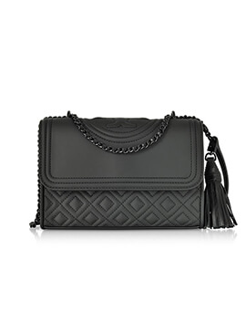 TORY BURCH TB Small Fleming in Black