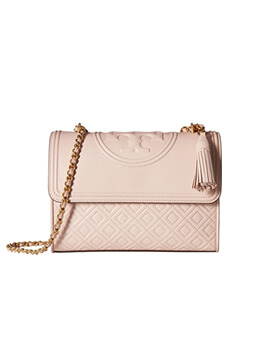 TORY BURCH TB Small Fleming in Shell Pink