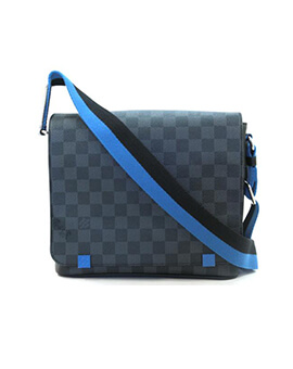 LOUIS VUITTON LV District in 2 Colours Damier Graphite