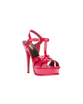 YVES SAINT LAURENT YSL Tribute in Hot Red Patent