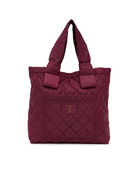 MARC JACOBS TOTE PLUM