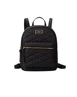 KATE SPADE SMALL BRADLEY QUILTED BLACK