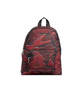 COACH F31450 PACKABLE BACKPACK BURGUNDY MULTI