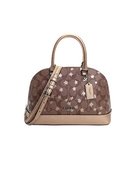 COACH Mini Sierra Signature Metallic