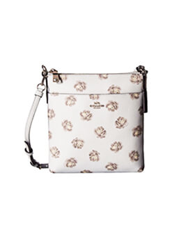 COACH 32454 SKY ROSE PRINT CROSSBODY