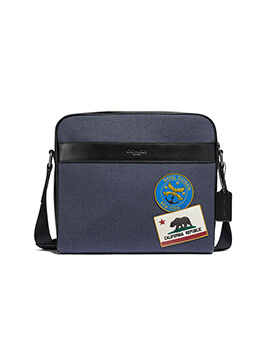 COACH CAMERA BAG NAVY MULTI