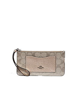 COACH F39672 Zip Top Wallet