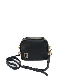 MARC JACOBS MINI SQUEEZE CROSSBODY BLACK