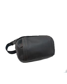 COACH GRAHAM BELT BAG BLACK