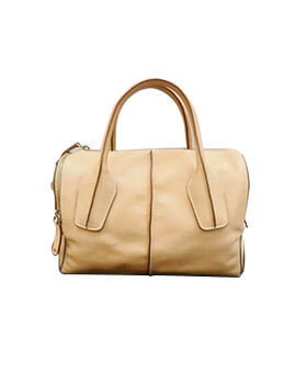 Tods tote leather beige