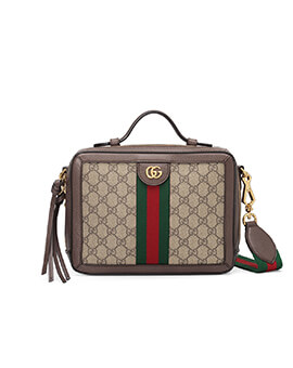GUCCI Ophidia GG Top Handle Bag