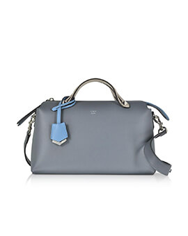 FENDI Small BTW Blue Tempesta Multi Grained