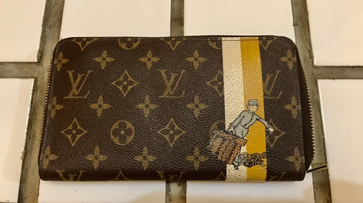 Dompet LV limited edition